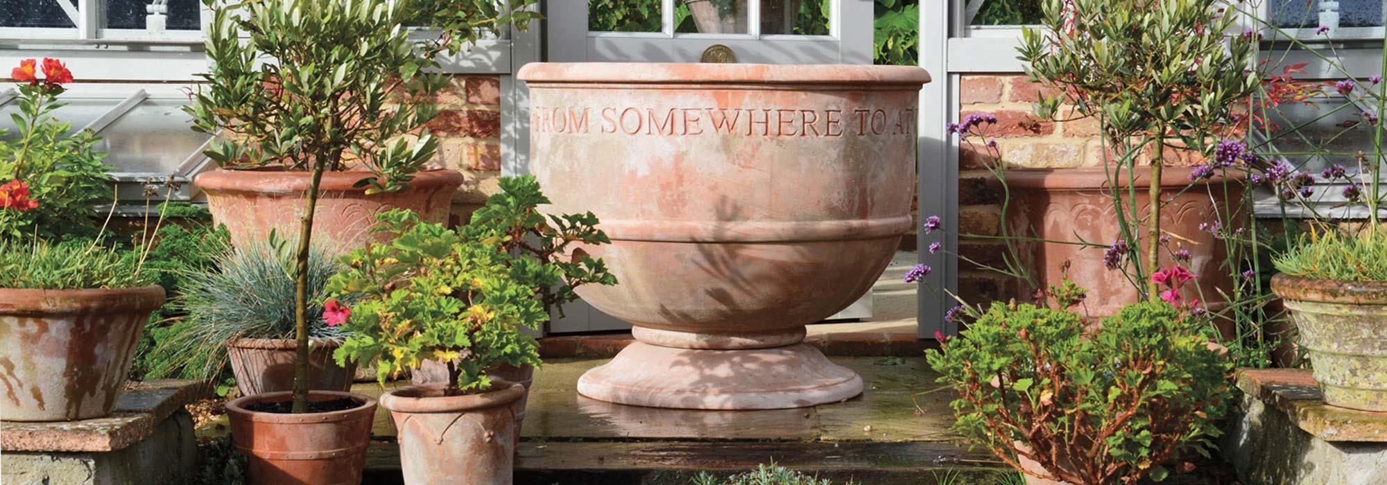 bespoke terracotta pots