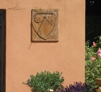 terracotta sundials